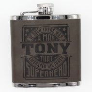 Personalised Hip Flask - Tony