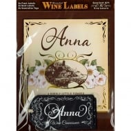 Personalised Wine Label Anna