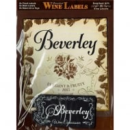Personalised Wine Label Beverley