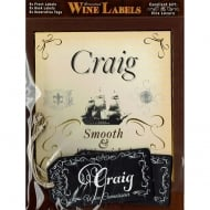 Personalised Wine Label Craig