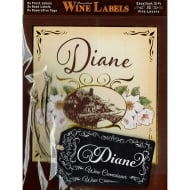 Personalised Wine Label Diane