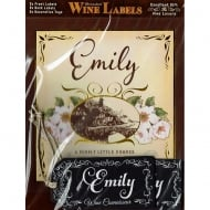 Personalised Wine Label Emily