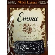 Personalised Wine Label Emma