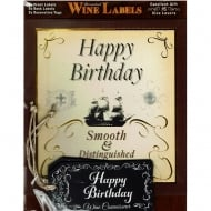 Personalised Wine Label - Happy Birthday