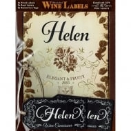 Personalised Wine Label Helen