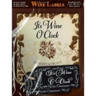 Personalised Wine Label - Its Wine OClock