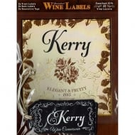 Personalised Wine Label Kerry
