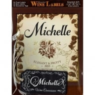 Personalised Wine Label Michelle