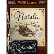 Personalised Wine Label Natalie