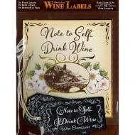 Personalised Wine Label - Note To Self Drink Wine