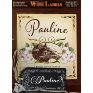 Personalised Wine Label Pauline