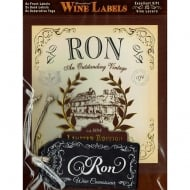 Personalised Wine Label Ron