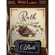 Personalised Wine Label Ruth
