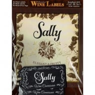 Personalised Wine Label Sally