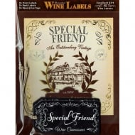 Mulberry Studios Personalised Wine Label Special Friend
