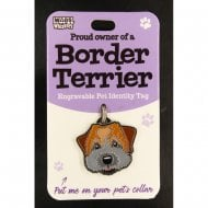 Pet Identity Tag - Border Terrier