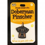 Pet Identity Tag - Doberman Pinscher