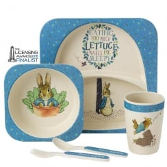 Peter Rabbit 5 Piece Organic Dinner Set