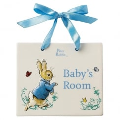 Peter Rabbit Door Plaque