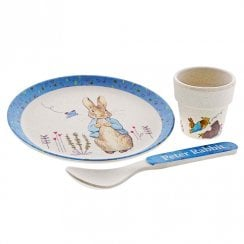 Peter Rabbit Organic Bamboo Egg Cup Set