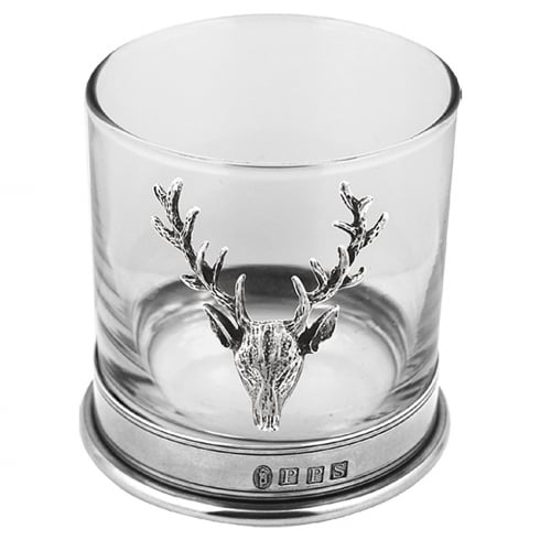 Piper Pewter Pewter Stag Single Tumbler