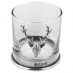 Pewter Stag Single Tumbler