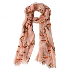 Pheasant Cotton Scarf