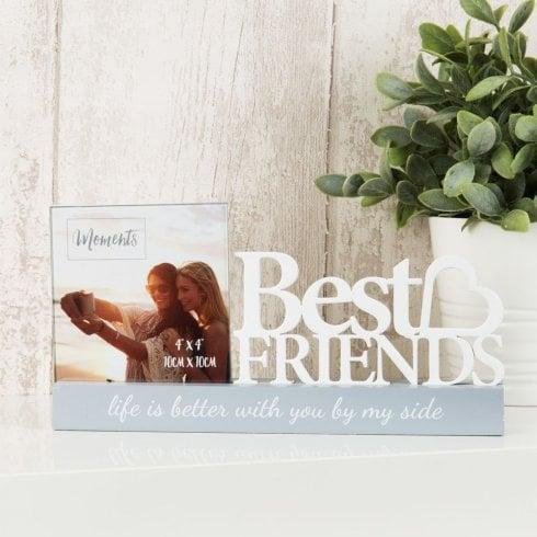 Widdop Bingham Photo Frame 4 X 4 - Best Friends