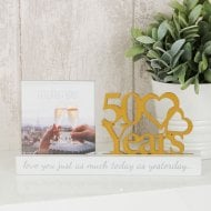 Photo Frame 4x4-50 Years