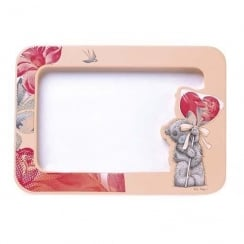 Photo Frame With Tatty Teddy Holding A Heart Balloon