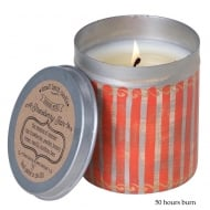 Picnic Tin with Strawberry Fair Fragrance Candle