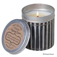 Picnic Tin with Sugared Lemon Fragrance Candle