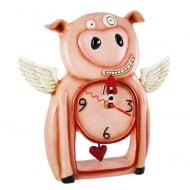 Pigs Might Fly Wall Clock