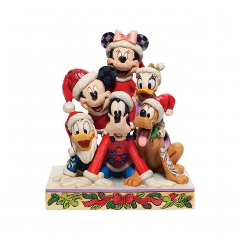 Disney Traditions Piled High With Holiday Cheer Mickey And Friends