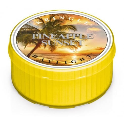Kringle Pineapple Sunset Daylight Candle