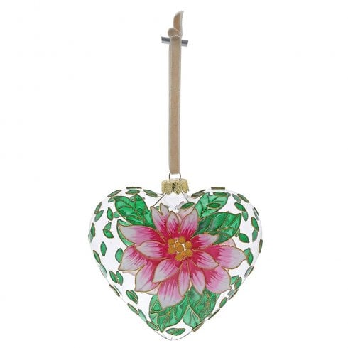 Enesco Pink Flower Hanging Ornament