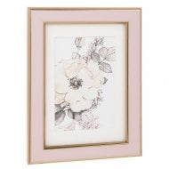 Pink Gold 4 x 6 Photo Frame 287121