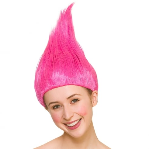 Wicked Costumes Pink Troll Wig