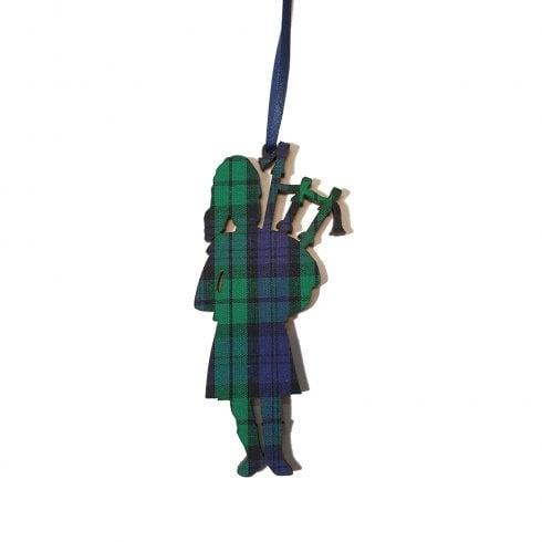 Artcuts Piper Black Watch Hanging Decoration