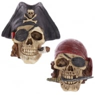 Pirate Skull Decoration 2 Designs