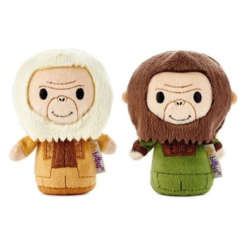 Hallmark Itty Bittys Planet of the Apes - Dr. Zaius & Dr. Cornelius - US Limited Edition