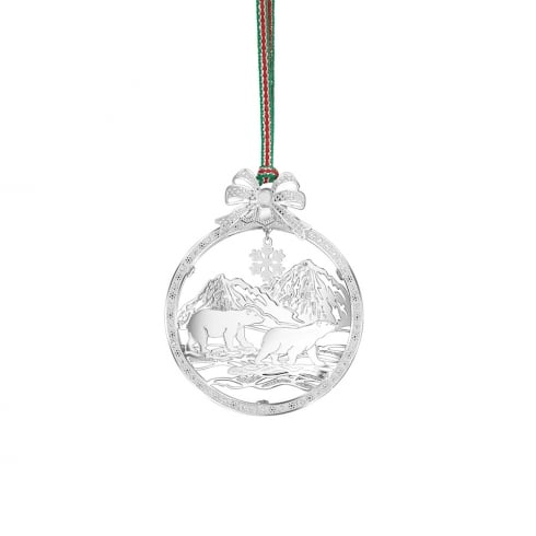 Newbridge Silverware Polar Bears Hanging Decoration