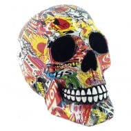 Pop Art Skull 19cm Figurine