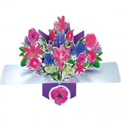 Pop Ups Card Flowers