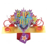 Pop Ups Card Happy Birthday