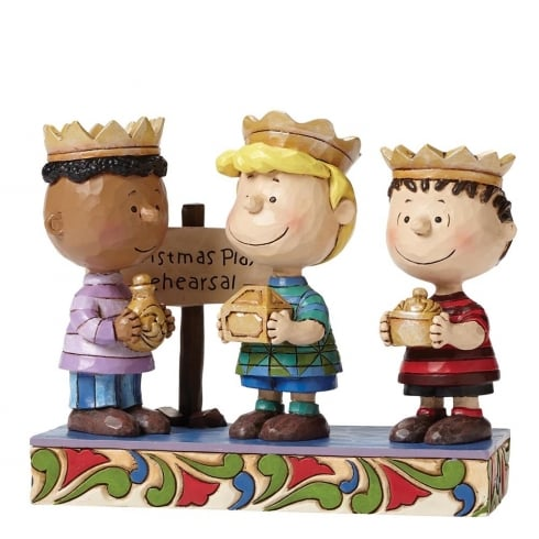 Jim Shore - Peanuts Practice Makes Perfect Three Wise Men