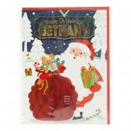 Pre-personalised Christmas Card for Bethany
