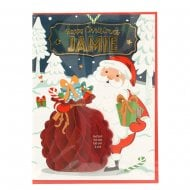 Pre-personalised Christmas Card for Jamie