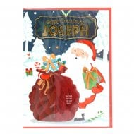 Pre-personalised Christmas Card for Joseph