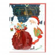 Pre-personalised Christmas Card for Mia